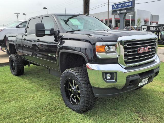 2015 Gmc Sierra 2500hd Crew Cab Sle Diesel Lifted Stock 15028