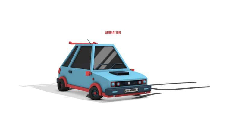 The Workflow Processed #motion #flat #2d #3d #transitions #car #office #paper #line