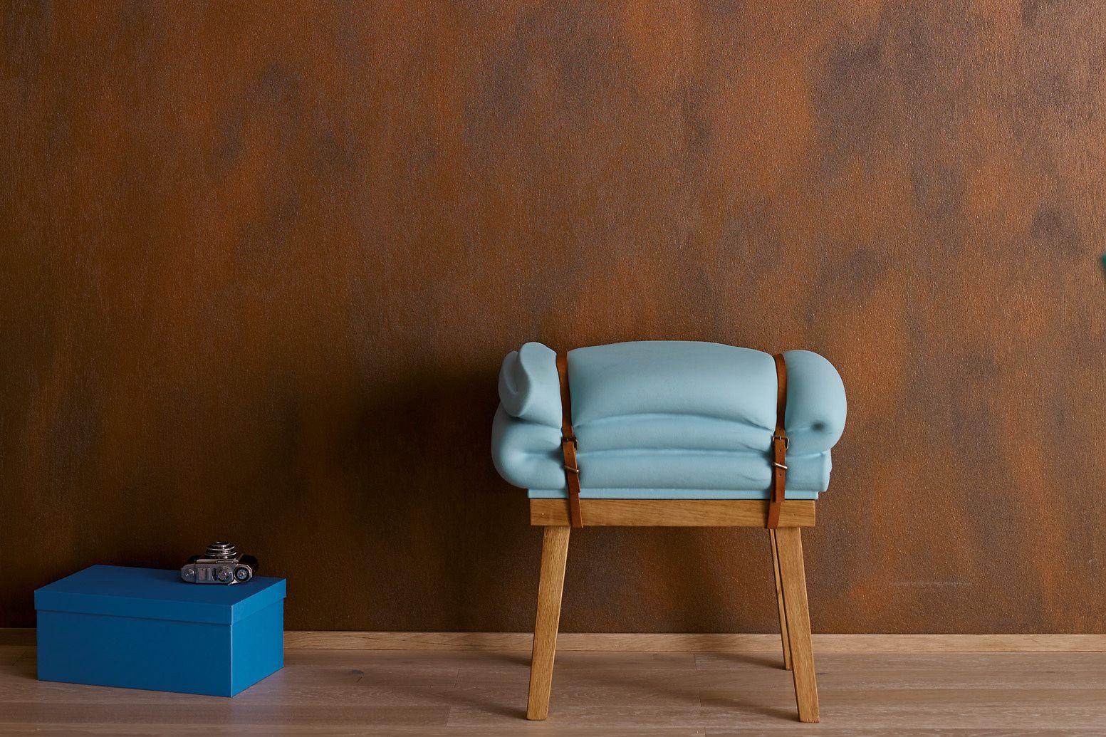 Effektfarbe, kreativ Wandfarbe Rost Alpina Farbrezepte