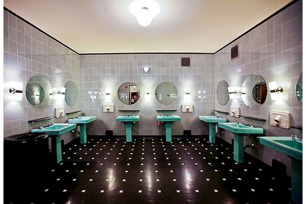 Radio City Art Deco Bathroom Art Deco Vintage Bathroom