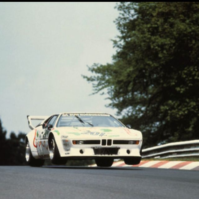 The BMW M1: the only BMW allowed in my driveway.