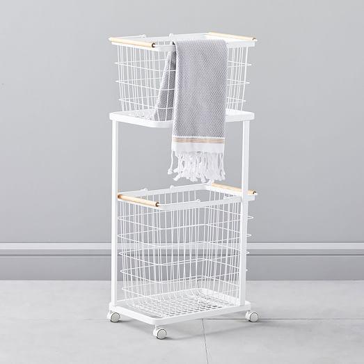 Tosca Laundry Basket Wagon Laundry Basket Laundry Hamper