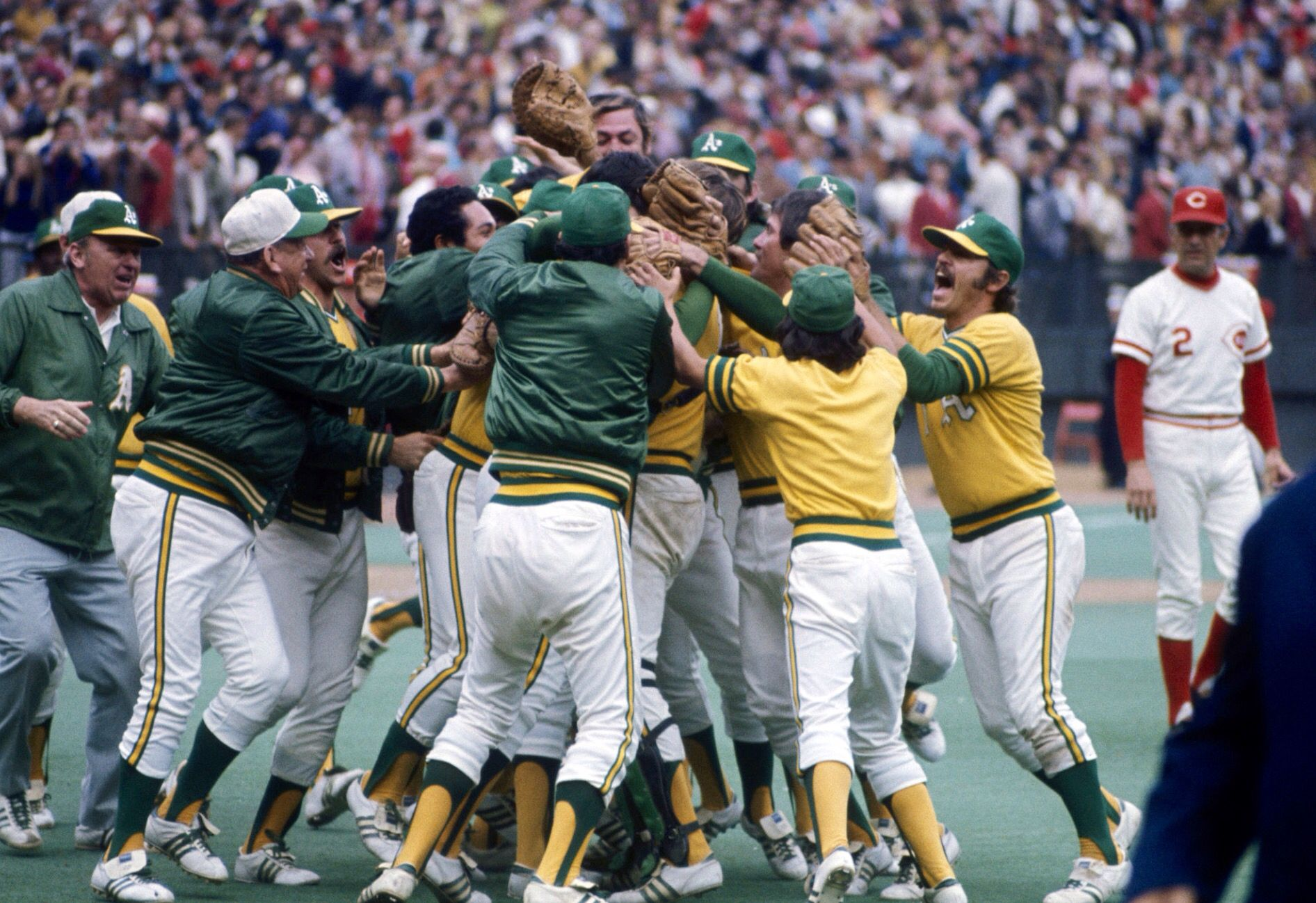 Oakland wins the 1972 World Series | Oakland athletics, Oakland athletics  baseball, Athletics baseball