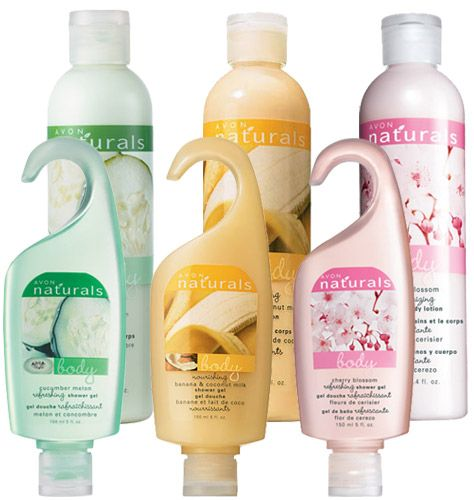 Avon Naturals 6 Piece Flavorful Shower Gel Body Lotion