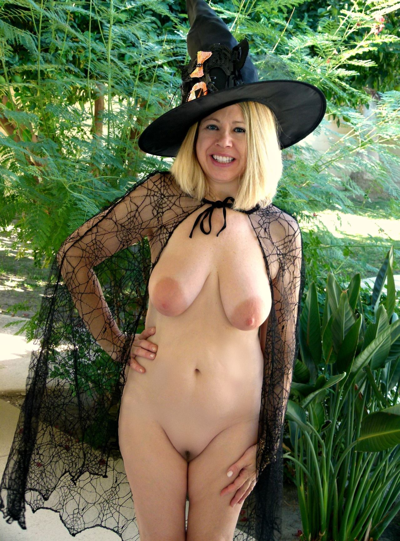 nude witches Outdoors