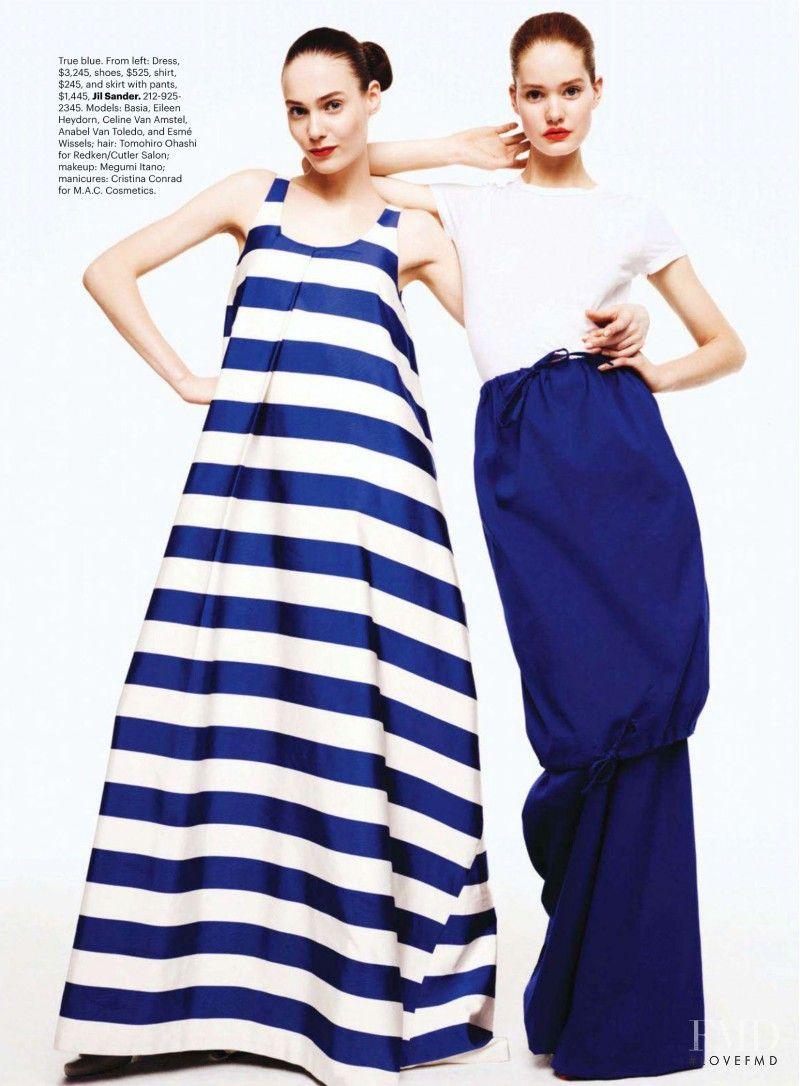 Fashion s Bright Spot in Harper s Bazaar USA with Celine van Amstel wearing  Jil Sander - (ID 2093) - Fashion Editorial  8fb0af138caa1