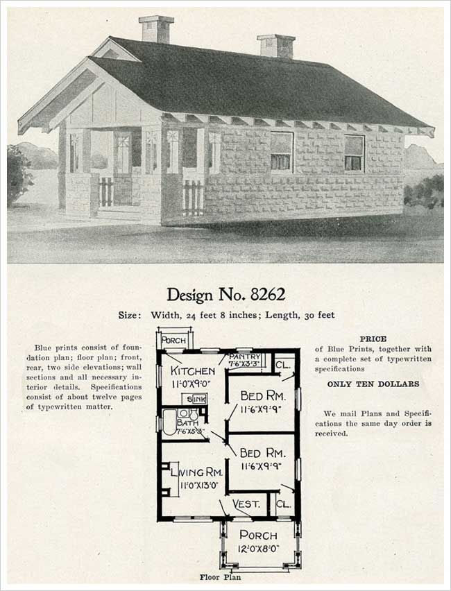 1909 Radford S Cement Houses No 8262 Cement House New House Plans House Plans
