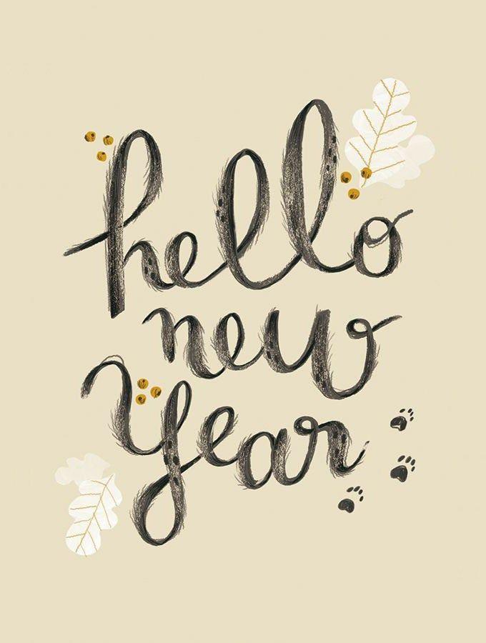 new year wishes handwritten by lucillemichieli seen on happymakersblogcom