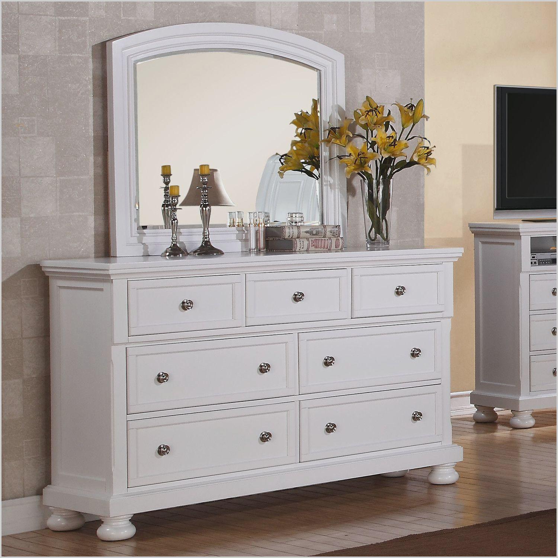 White Bedroom Dresser Mirror Di 2020 Dengan Gambar