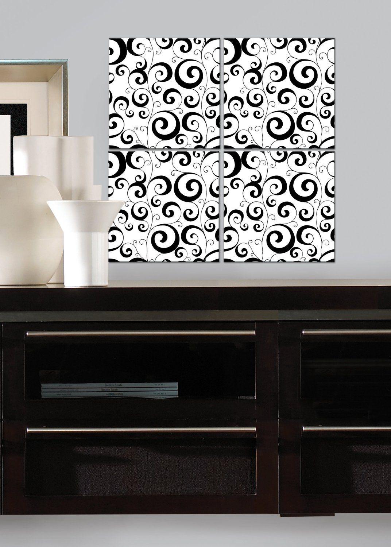 Amazon.com: RoomMates RMK1789FLT Scroll Foam Tile: Furniture U0026 Decor