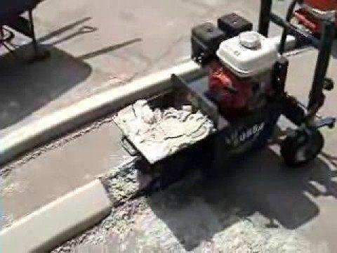 Curb Master Continuous Concrete Curb Edging Youtube Concrete Curbing Concrete Edging Curbing
