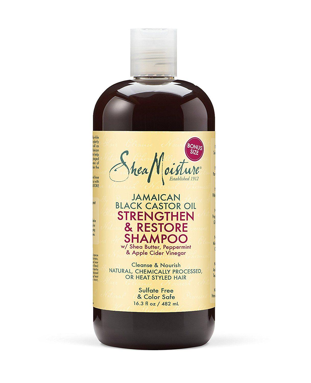Shea Moisture Jamaican Black Castor Oil Combination Pack 16 3 Oz Strengthen Grow Hairstyle Hair Growth Castor Oil Shampoo Jamaican Black Castor Oil
