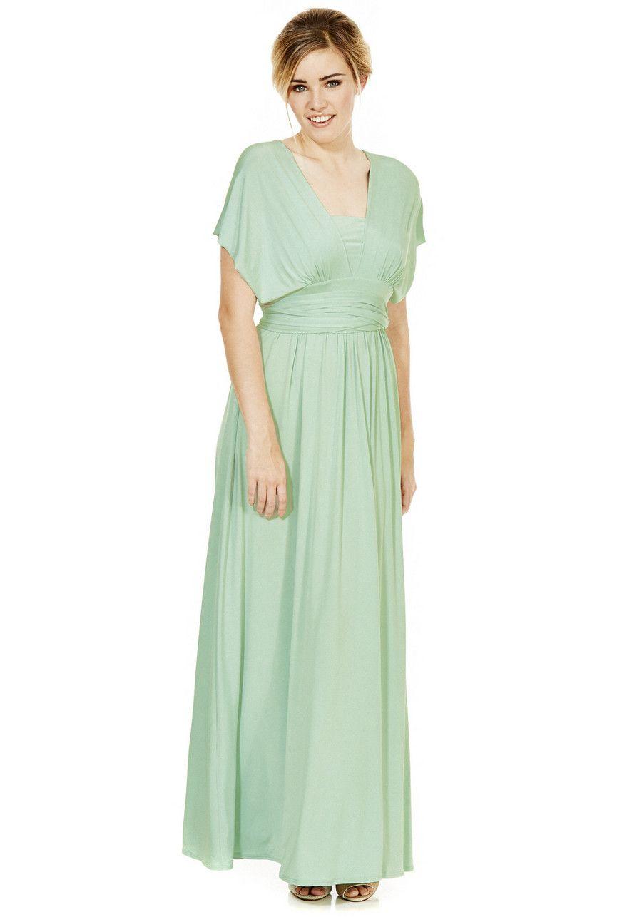 Maxi dress for wedding  Clothing at Tesco  FuF Signature Multiway Maxi Dress ue dresses