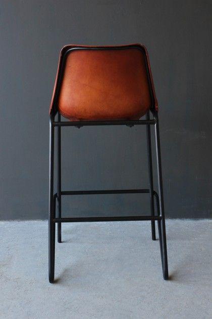 Super Industrial Leather Bar Stool Brown Breakfast Bar In 2019 Cjindustries Chair Design For Home Cjindustriesco