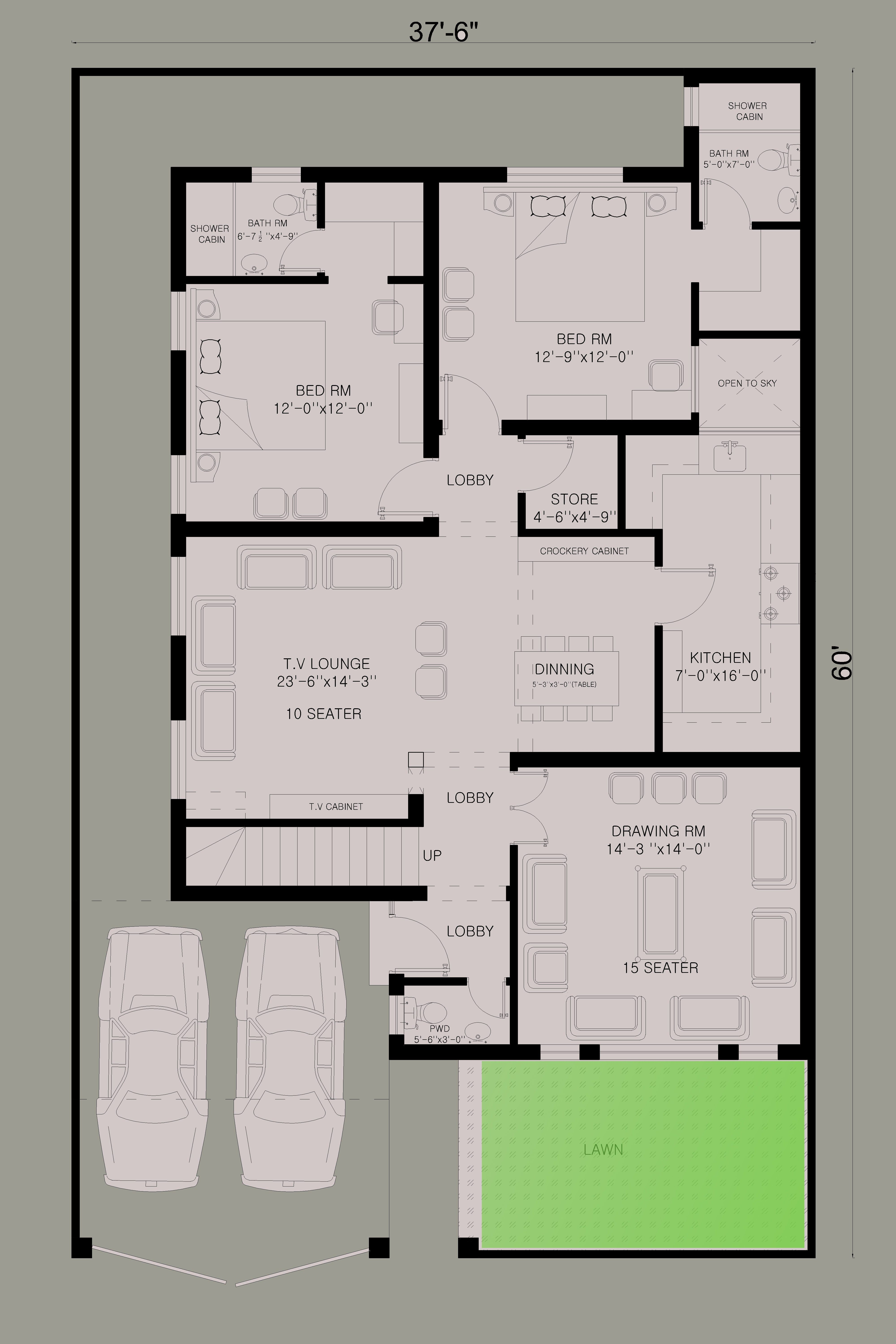 10 marla house layout | house plans and ideas | pinterest | house