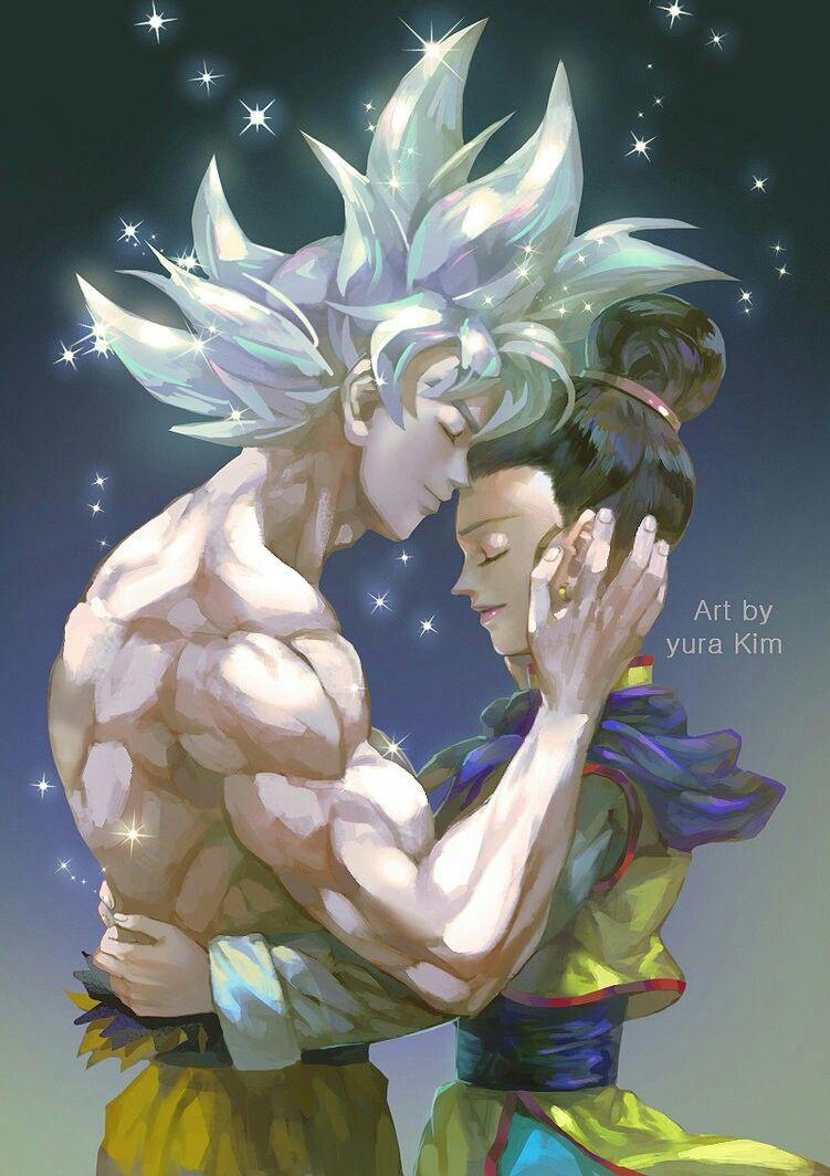 Adorable Goku and Chichi | Dragon Ball | Pinterest | Goku