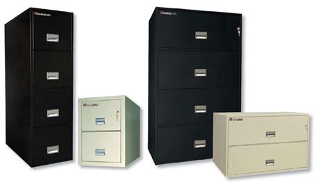 COM: FIRE RATED FILING CABINET   Fire King Vertical Filing Cabinet, 31