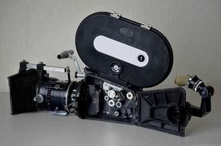 Arri 16BL showing film path and sound-on-film mechanism