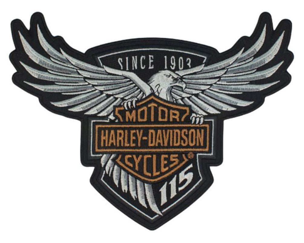 HarleyDavidson® 115th Anniversary Eagle Emblem Patch