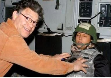 Democrat Senator Al Franken has apologised after he was accused of groping a former California model and Radio host as she slept during a USO tour in Afghanistan in 2006.  The California morning radio host Leeann Tweeden at a press conference last week said Franken grabbed her breasts while she slept on a military aircraft. She produced a photo that shows Franken grabbing her breasts when she was a 23-year-old model during the tour.  In a statement issued by the Democrat Senator on Thanksgiving Day he apologised and says he is just a warm person who loves to hug.  Ive met tens of thousands of people and taken thousands of photographs often in crowded and chaotic situations he wrote. Im a warm person; I hug people. Ive learned from recent stories that in some of those encounters I crossed a line for some women  and I know that any number is too many. Some women have found my greetings orembracesfor a hug or photo inappropriate and I respect their feelings about that.  He continued:  Ive thought a lot in recent days about how that could happen and recognize that I need to be much more careful and sensitive in these situations. I feelterriblythat Ive made some women feelbadlyand forthatI am so sorry and I want to make sure that never happens again. And let me say again to Minnesotans that Im sorry for putting them through this and Im committed to regaining their trust.  Senator Al Franken who has no plans to resign from his position faces a Senate ethics probe following allegations from the four women.