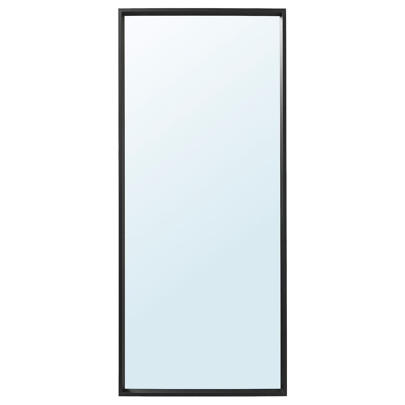 Nissedal Mirror Black 255 8x59 Ikea In 2021 Ikea Nissedal Black Mirror Ikea Mirror