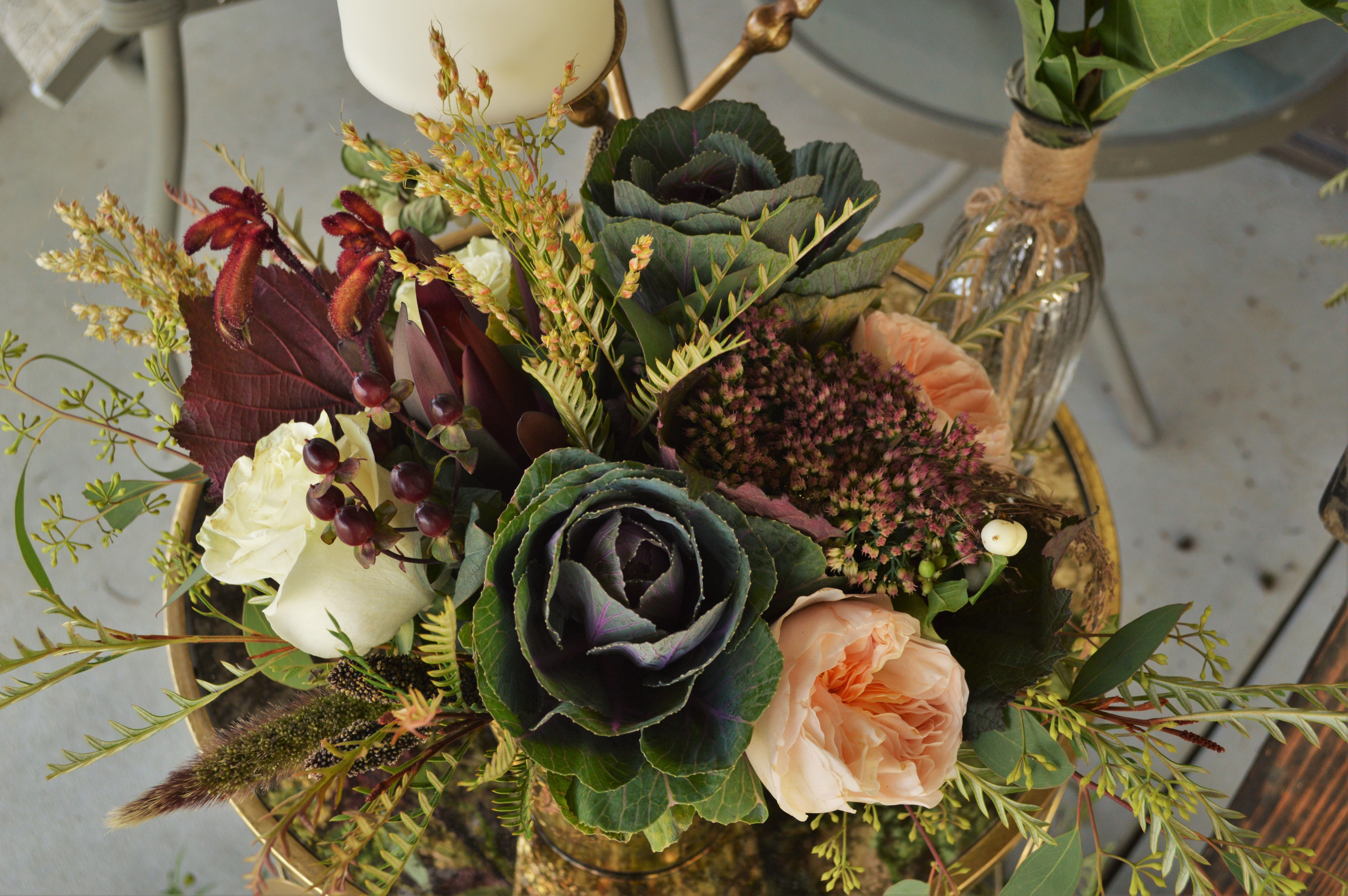 Wedding flower design by Casey\'s Garden Shop and Florist Bloomington ...