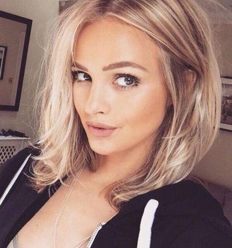 Mittellang Frisuren Für Ovale Gesichter Frisuren Pinterest