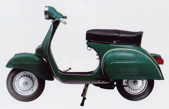 Vespa 150 Sprint Veloce Original Color Vallombrosa Green ...