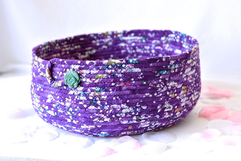 gorgeous purple t basket cat bed furniture handmade storage