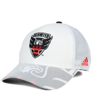 adidas Dc United Goalie Vize Adjustable Cap - White Adjustable