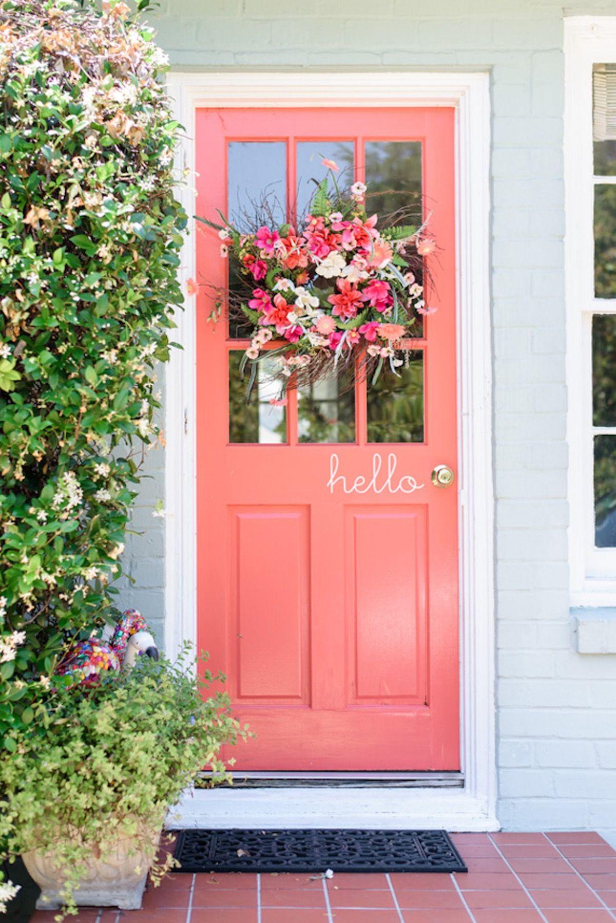 24 Door Decor Ideas to Rock This Summer | Doors and Outdoor living
