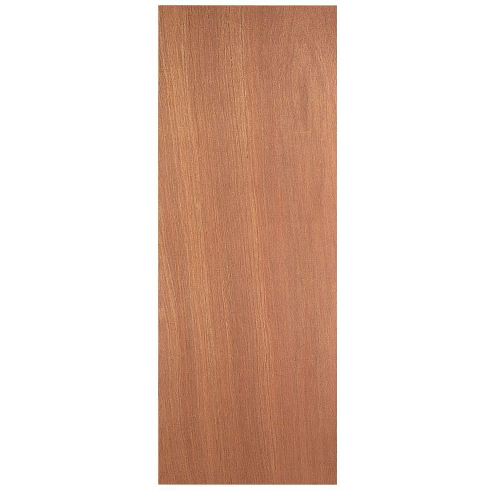 Masonite 30 In X 80 In Smooth Flush Hardwood Hollow Core Unfinished Composite Interior Door Slab 27694 The Home Depot Hollow Core Doors Slab Door Doors Interior