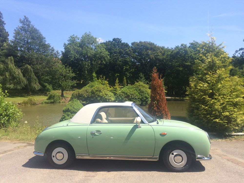 A sunny day for our Nissan Figaro