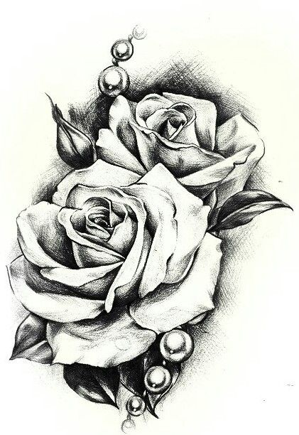 Hope for the best prepare for the worst tatoo pinterest tatouages id es de tatouages et - Rose dessin tatouage ...