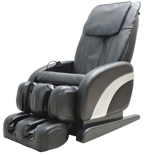 Margr Reclining Full Body Massage Recliner Ebern Designs Colour