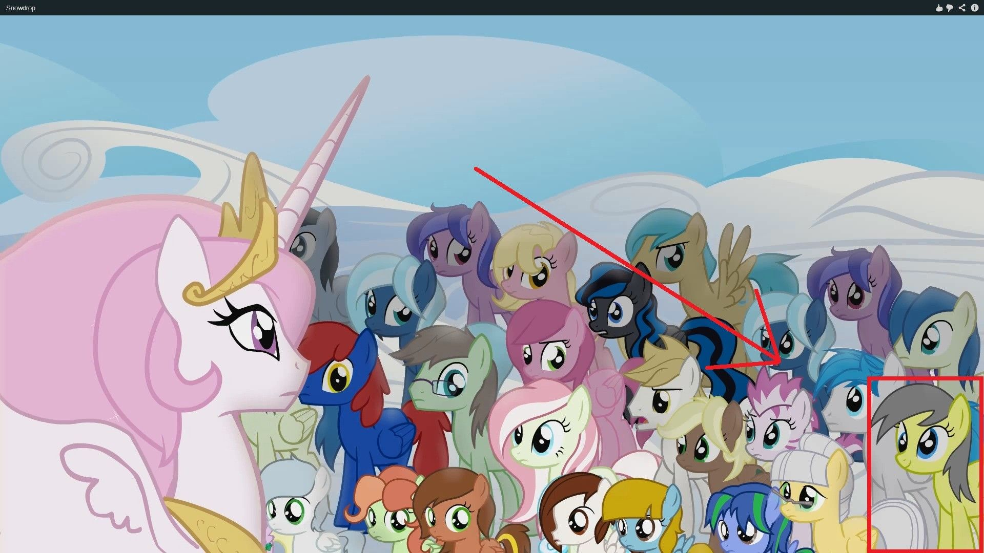 Image Result For My Little Pony Snowdrop