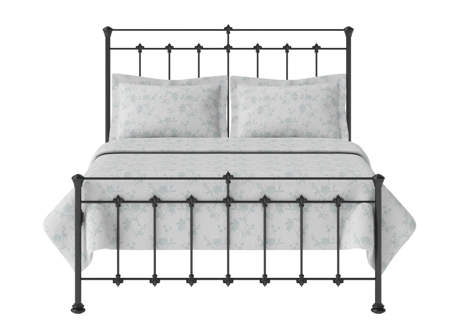 Edwardian in 2020 Iron metal bed, Metal bed frame, Bed frame