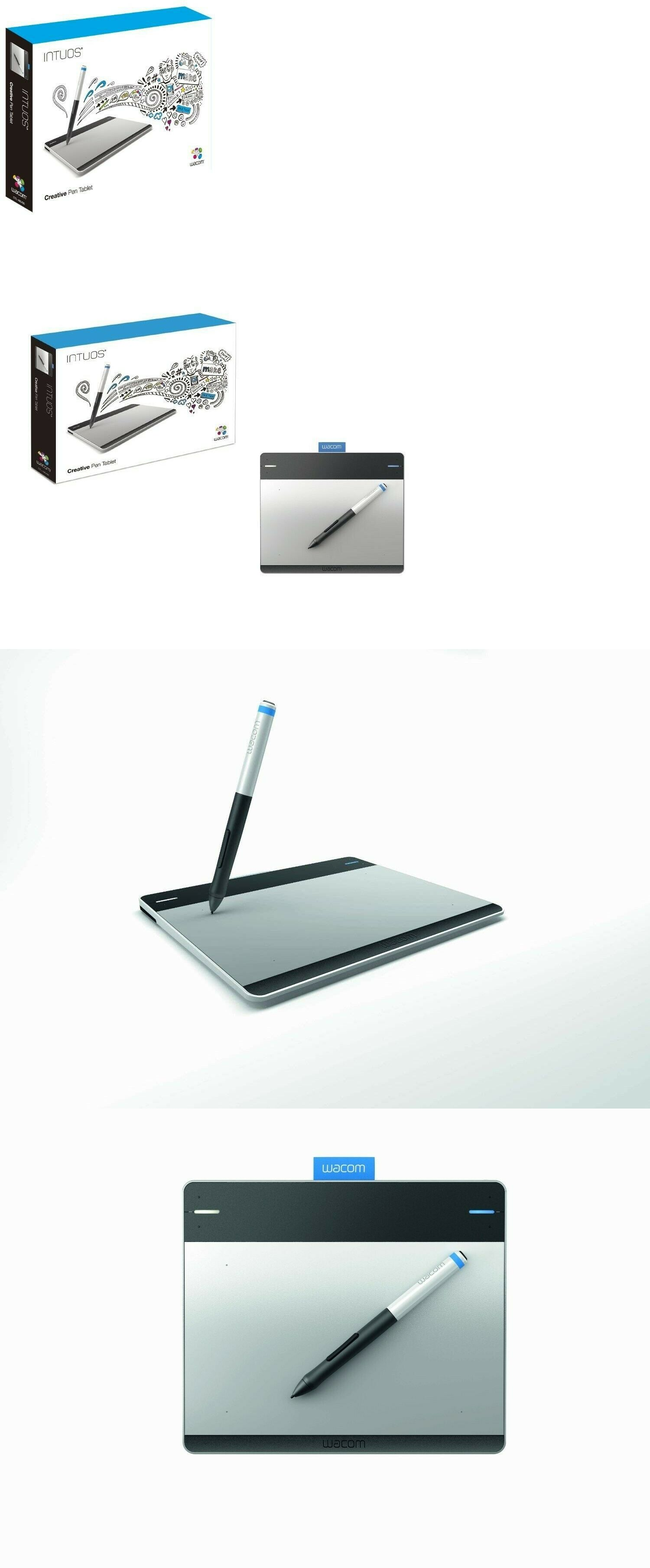 Graphics Tablets Boards and Pens 3680: Wacom Intuos Creative