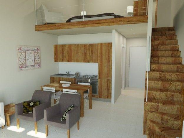 Arredare un monolocale monolocale duplex monolocale for Arredare piccoli appartamenti
