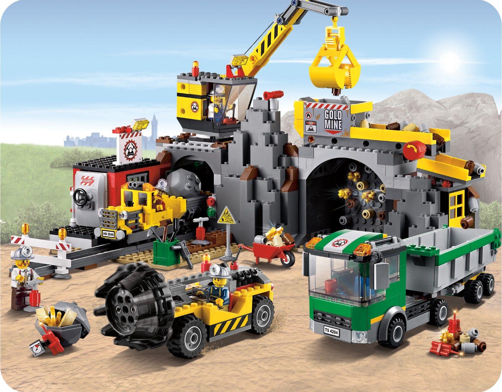 das neue lego thema lego 4204 city bergwerk jetzt bei. Black Bedroom Furniture Sets. Home Design Ideas