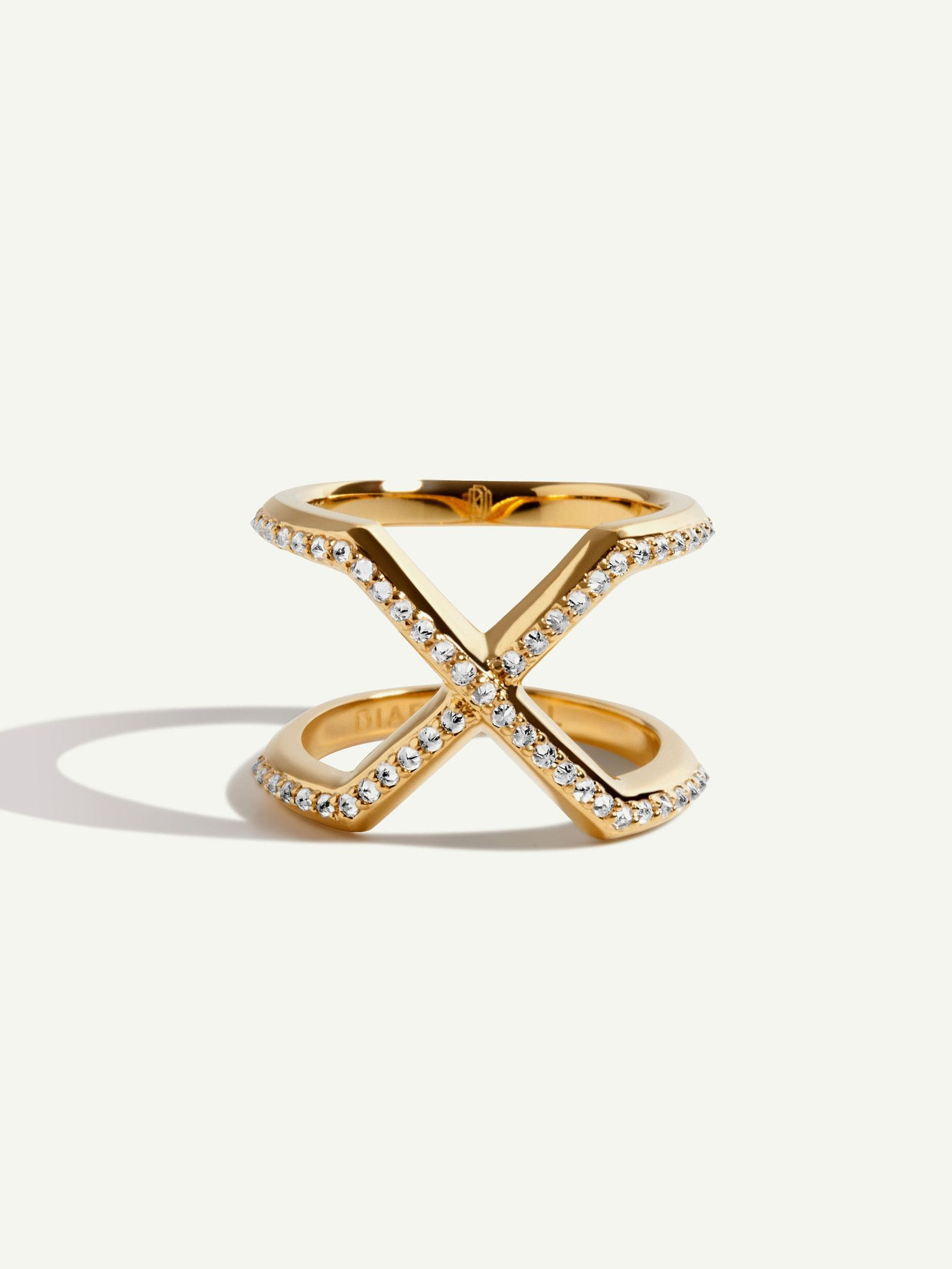 Exquis 8:17 18K Gold Ring With White Diamonds   Gold rings, Ring ...