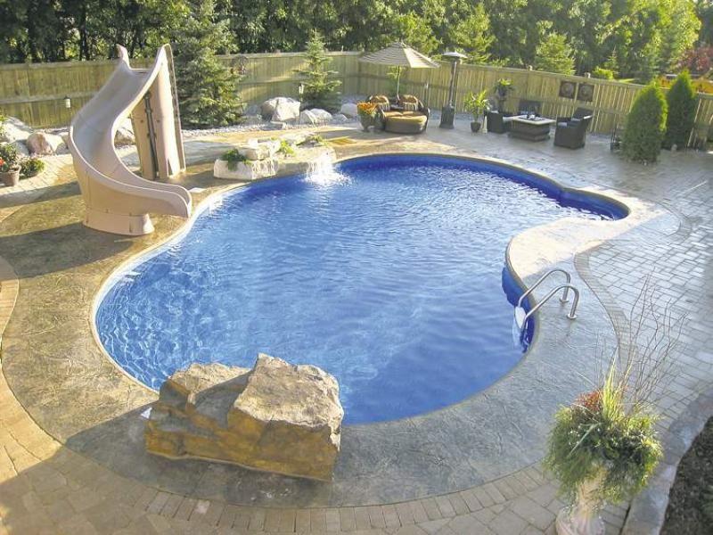 Humpback Kidney Shaped Pool Google Search Saltwater Pool Inground Pool Designs Fiberglass Pools