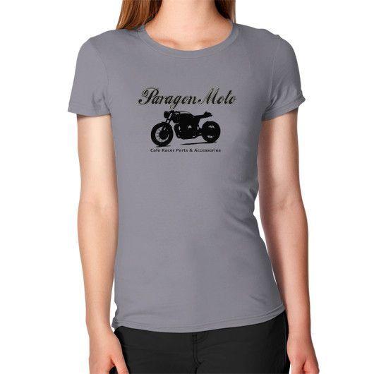 Paragon Moto Classic Cafe Racer Logo Women's T-Shirt