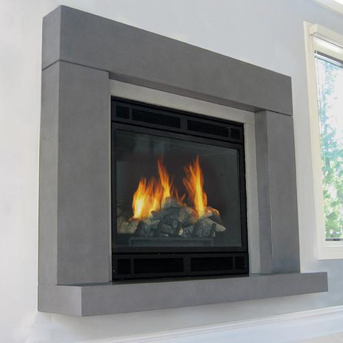 Beam Concrete Fireplace Surround Nel 2020 Idee Camino Arredamento Casa Case