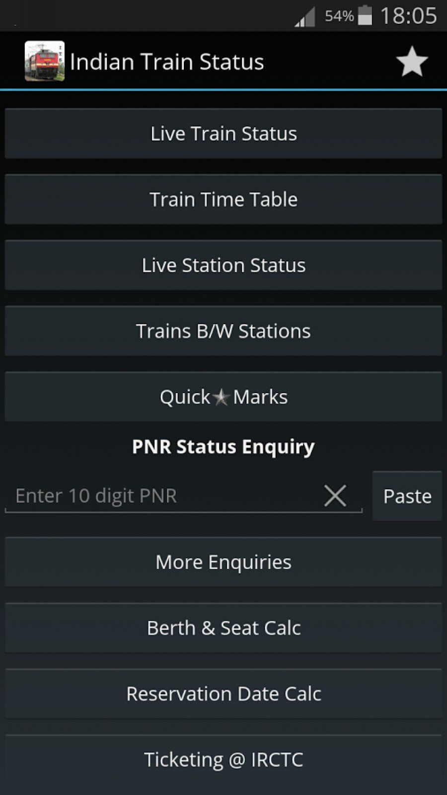 Indian Train Status Apk For Android (With images) Indian