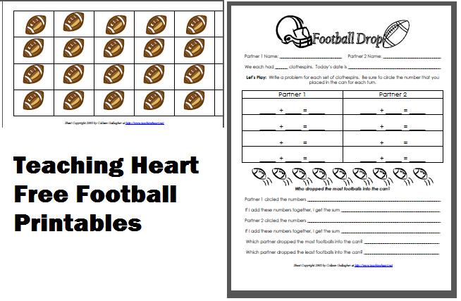 Football Math Worksheets – Football Math Worksheets