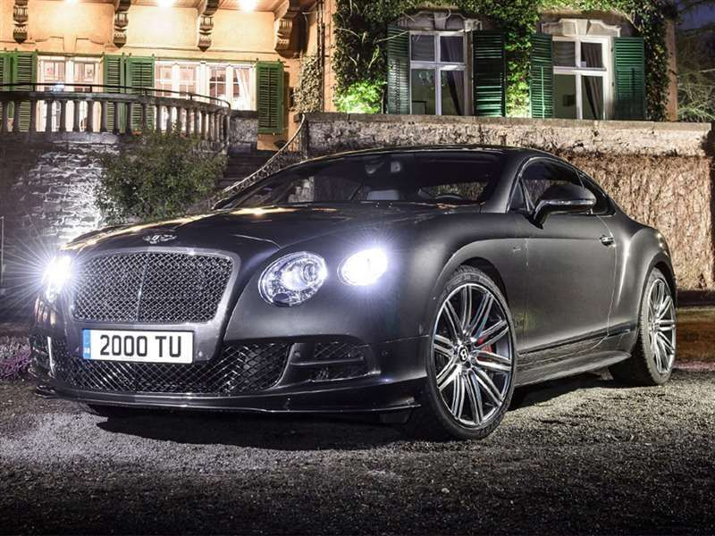 Most Fuel Efficient Luxury Cars Of 2015: 2015 Bentley Continental GT