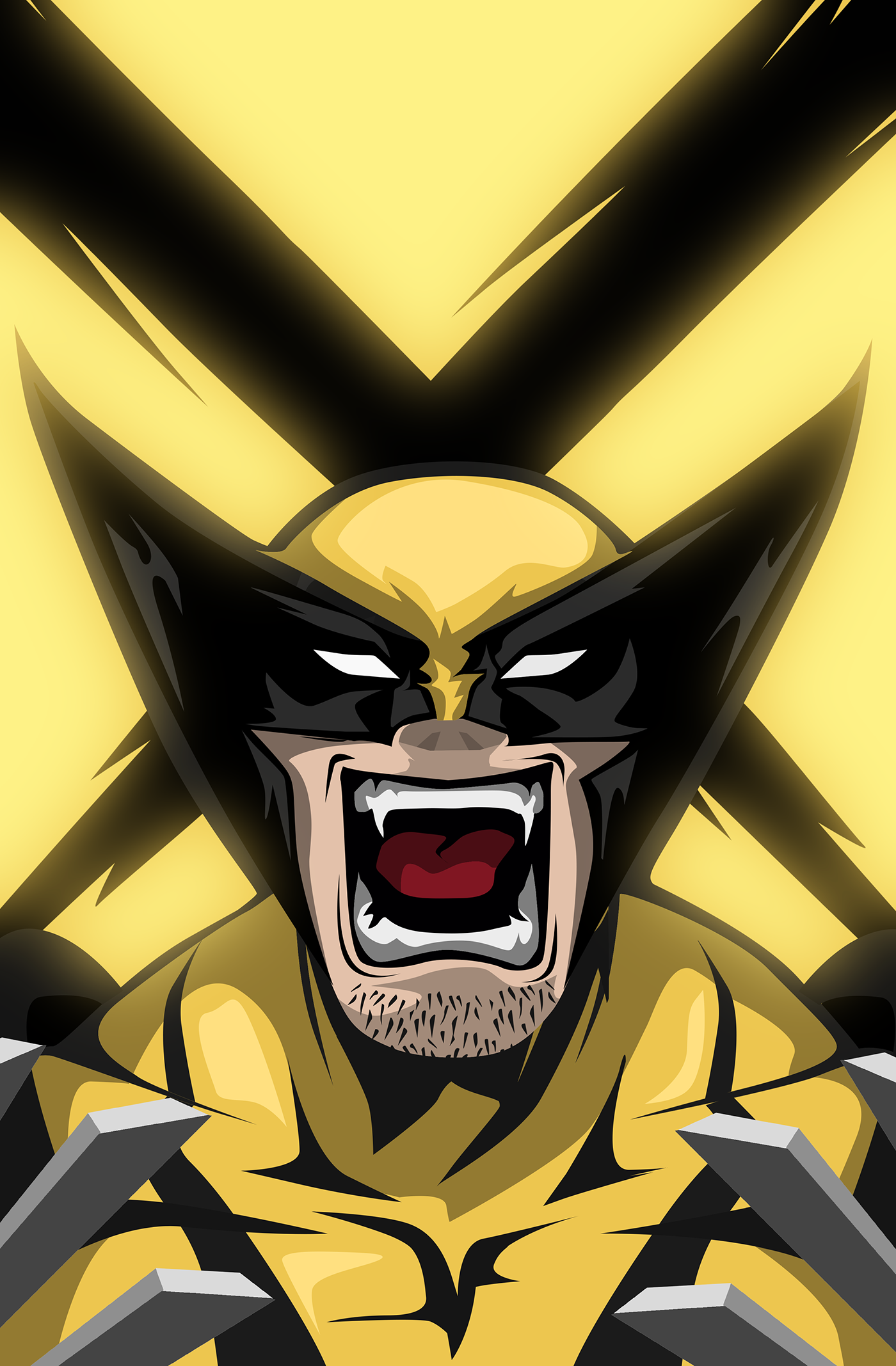 Rage Series on Behance Marvel xmen, Marvel wallpaper