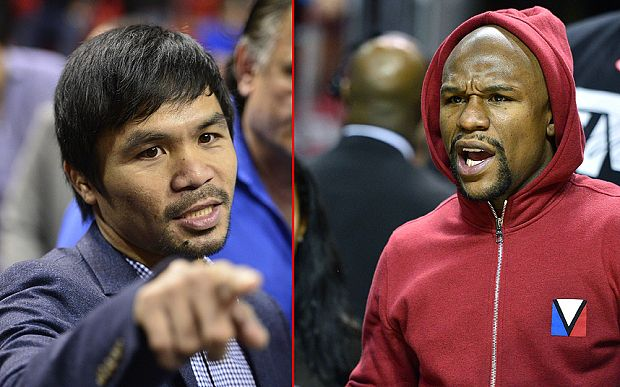 Manny Pacquiao and Floyd Mayweather agree £160m Las Vegas mega-fight - Telegraph