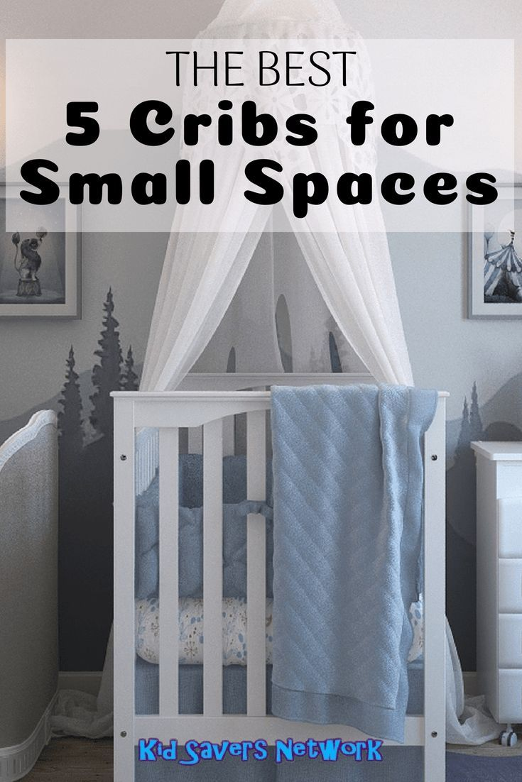 The Best 5 Cribs for Small Spaces in 2020 | Cribs for ...